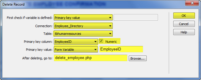 how to create user and role management system in php