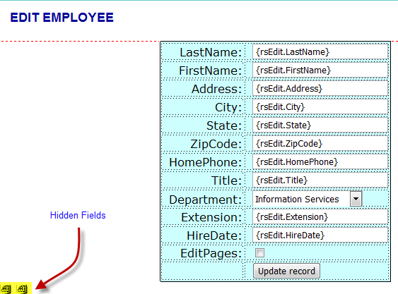HOW TO CREATE A PHP CONTENT MANAGEMENT SYSTEM CMS PART 3 – Employee Update Form