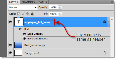 Using Variables in Photoshop with External Data Source